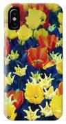 Tulips Blue IPhone Case