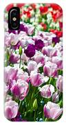 Tulips Field IPhone Case