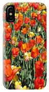 Tulips - Field With Love 51 IPhone Case