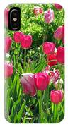 Tulips - Field With Love 54 IPhone Case