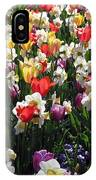 Tulips - Field With Love 57 IPhone Case