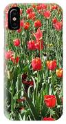 Tulips - Field With Love 61 IPhone Case