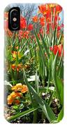 Tulips - Field With Love 64 IPhone Case