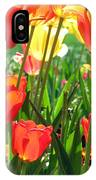 Tulips - Field With Love 69 IPhone Case