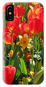 Tulips - Field With Love 71 IPhone Case