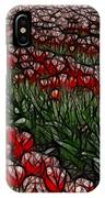 Tulips Fields Are Forever IPhone Case