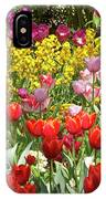 Tulips In St James's Park, London IPhone Case