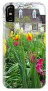 Tulips In Williamsburg IPhone Case