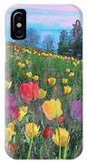 Tulips Lake IPhone Case