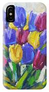 Tulips Time Love The Spring By Prankearts IPhone Case