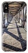 Tulsa Pedestrian Bridge IPhone Case
