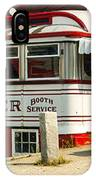 Tumble Inn Diner Claremont Nh IPhone Case by Edward Fielding