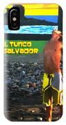 Tunco Card Stretch Ylwm Pl IPhone Case