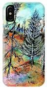 Quebec Taiga Landscape IPhone Case