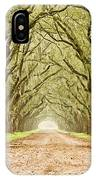 Tunnel In The Trees IPhone Case
