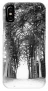 Tunnel Of Trees IPhone Case
