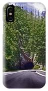 Tunnel Thru The Mountain IPhone Case