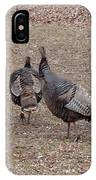 Turkey Dance IPhone Case