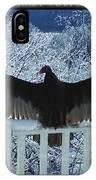 Turkey Vulture Sunning IPhone Case