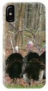Turkeys IPhone Case