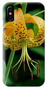 Turk's Cap Lilly IPhone Case