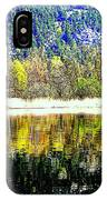 When Nature Is Turned Upside Down  IPhone Case