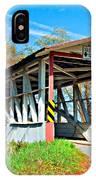 Turner's Covered Bridge Vignette IPhone Case