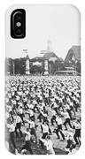 Turnfest Gymnastic Festival Hamburg Germany 1903 IPhone Case