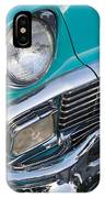 Turquoise 1956 Belair IPhone Case