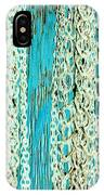 Turquoise Chained IPhone Case