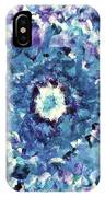 Turquoise Cloud IPhone Case