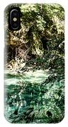 Turquoise Forest Pond On A Summer Day No1 IPhone Case