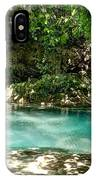 Turquoise Forest Pond On A Summer Day No3 IPhone Case