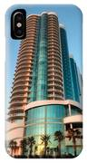 Turquoise Place Rising IPhone Case