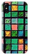 Turquoise Sudoku IPhone Case