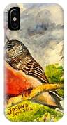 Turtle - Dove IPhone Case