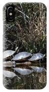 Turtle Lineup IPhone Case