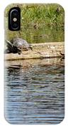 Turtle Raft IPhone Case