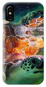 Turtle Reflection IPhone Case