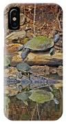 Turtle Trio IPhone Case