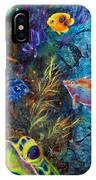 Turtle Wall 3 IPhone Case by Ashley Kujan