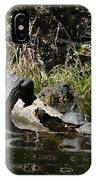 Turtles And Gator IPhone Case