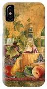 Tuscan In Vino Veritas IPhone Case