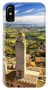 Tuscan Tower IPhone Case