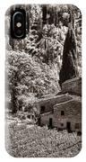 Tuscan Vinyard IPhone Case