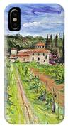 Tuscany Afternoon IPhone Case