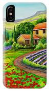 Tuscany Lavender  IPhone Case