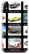 Twenty Corvettes IPhone Case