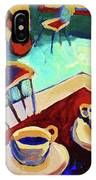 Twilight Coffee Cafe IPhone Case
