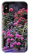 Twilight In The Courtyard IPhone Case